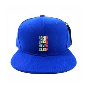 Gamer Never Sleep Hat Cap One Size Snapback
